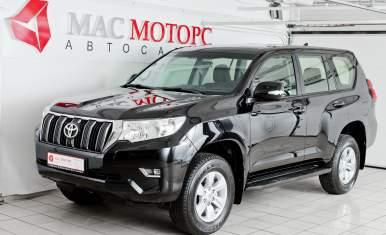 Toyota Land Cruiser Prado Черный