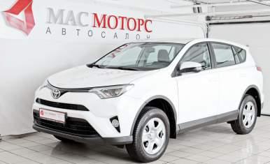 Toyota RAV4 2018 Белый