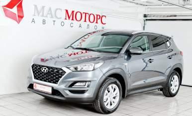 Hyundai Tucson Серебряный металлик